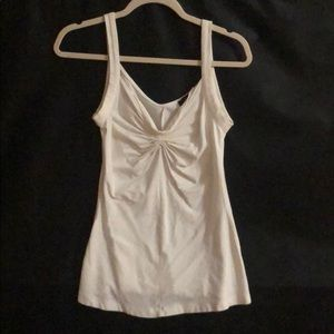 Express ruched tank top